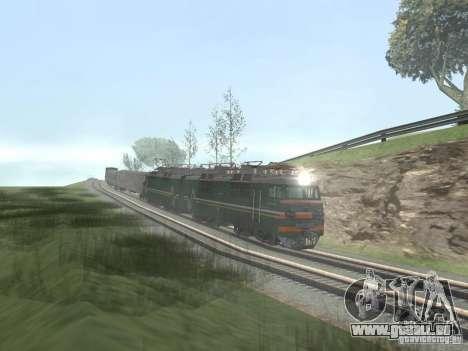 Vl80s-2532 für GTA San Andreas Innenansicht