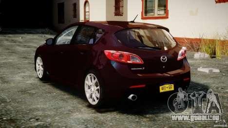 Mazda Speed 3 [Beta] pour GTA 4 Vue arrière de la gauche
