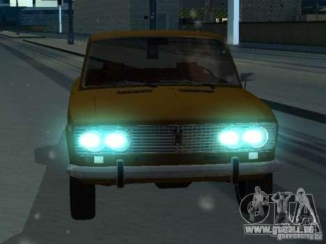 VAZ 2103 Convertible pour GTA San Andreas vue arrière