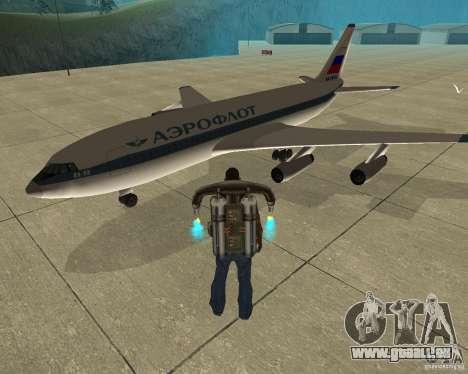 Iljuschin Il-86 für GTA San Andreas