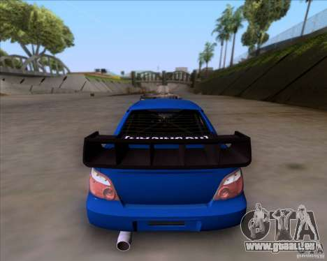 Subaru Impreza WRX für GTA San Andreas rechten Ansicht