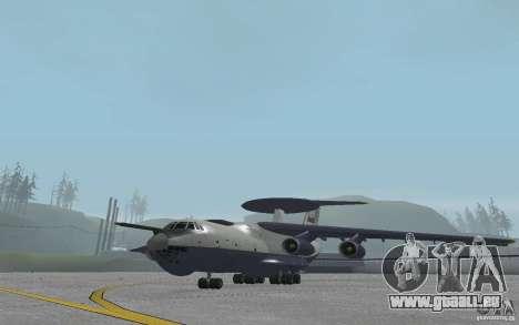 Berijew A-50 Mainstay für GTA San Andreas linke Ansicht
