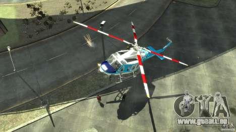 NYPD Bell 412 EP pour GTA 4 est une gauche