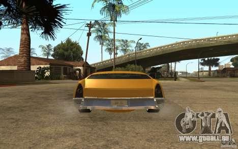 MGC Phantom pour GTA San Andreas sur la vue arrière gauche