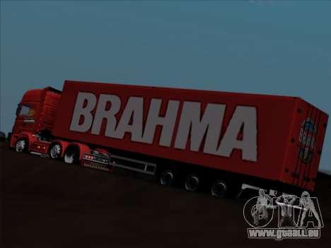Trailer für Scania R620 Brahma für GTA San Andreas Unteransicht