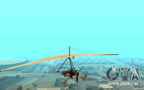 Drachenfliegen für GTA San Andreas linke Ansicht