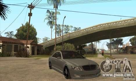 Mercedes Benz Panorama 2011 pour GTA San Andreas vue arrière