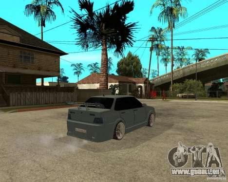 VAZ 2115 TTC Tuning pour GTA San Andreas sur la vue arrière gauche