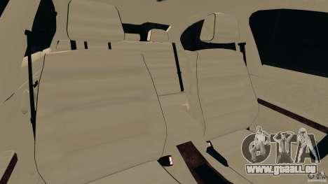 BMW 330i E92 pour GTA 4 est une vue de l'intérieur