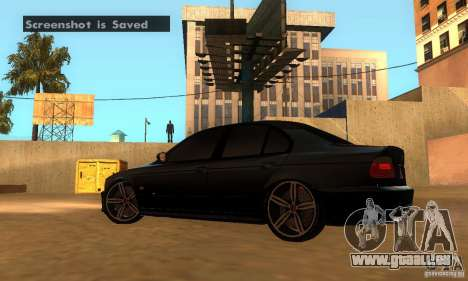 BMW M5 E39 2003 für GTA San Andreas zurück linke Ansicht