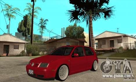 VW Golf 4 V6 Bolf pour GTA San Andreas