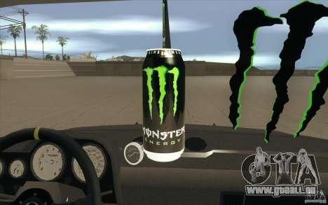 L'écoute de Drift Lada VAZ 2106 pour GTA San Andreas vue de dessous