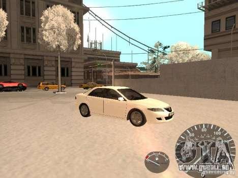 Mazda 6 2004 für GTA San Andreas rechten Ansicht