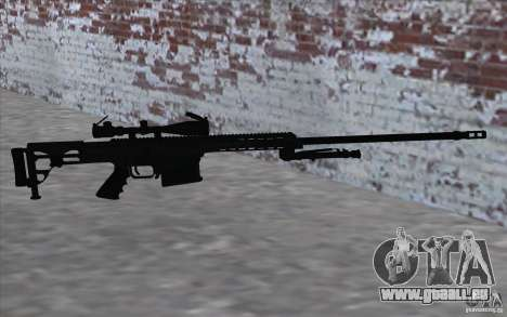 M98B pour GTA San Andreas quatrième écran