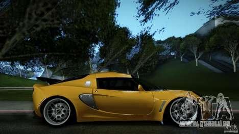 Lotus Exige Track Car pour GTA San Andreas laissé vue
