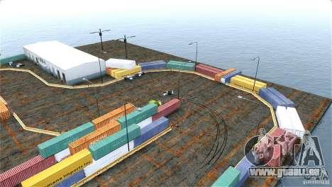 Blur Port Drift pour GTA 4 troisième écran