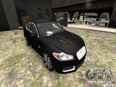 Jaguar XFR für GTA 4 Seitenansicht
