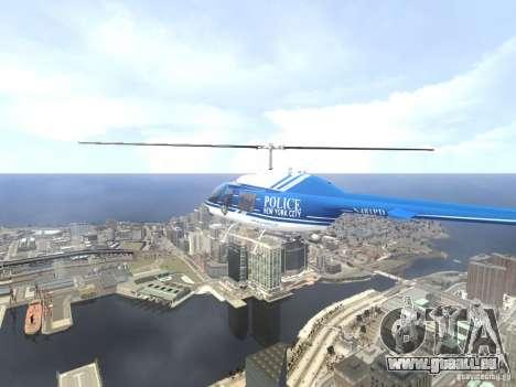 Bell 206 B - NYPD pour GTA 4 Salon