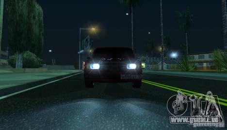 VAZ 2107 Gangsta für GTA San Andreas rechten Ansicht