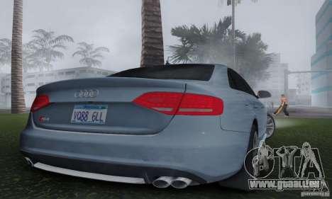 Audi S4 2010 für GTA San Andreas linke Ansicht