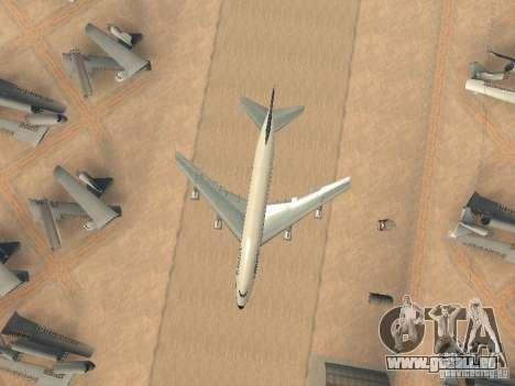 Boeing 747-100 Lufthansa für GTA San Andreas Seitenansicht