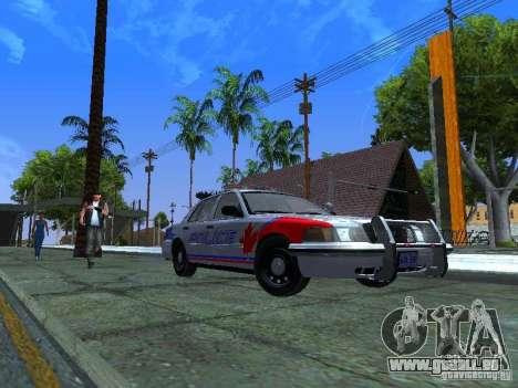 Ford Crown Victoria Police Patrol für GTA San Andreas