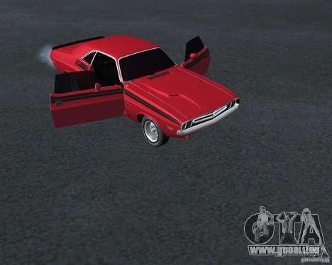 Dodge Chellenger V2.0 für GTA San Andreas rechten Ansicht