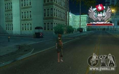HD box-Bum pour GTA San Andreas quatrième écran