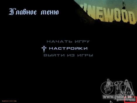 gta_sa.exe v.1.1 pour GTA San Andreas deuxième écran