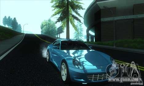 Ferrari 612 Scaglietti für GTA San Andreas Rückansicht