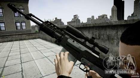 Accuracy International AS50 für GTA 4 fünften Screenshot