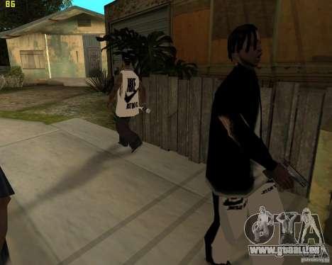 Grove à najke pour GTA San Andreas quatrième écran