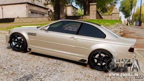 BMW M3 E46 für GTA 4 linke Ansicht