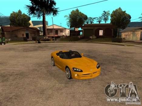 Dodge Viper SRT10 Impostor Tuning pour GTA San Andreas vue de droite