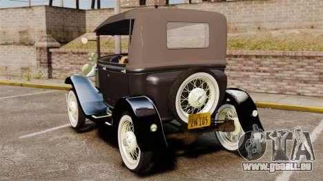 Ford Model T 1924 für GTA 4 hinten links Ansicht
