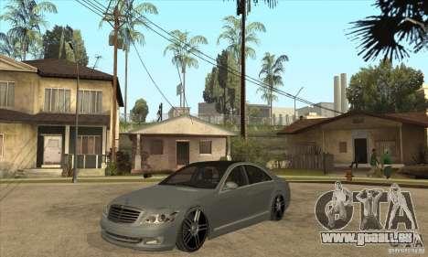 Mercedes Benz Panorama 2011 pour GTA San Andreas