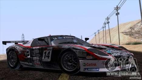 Ford GT Matech GT3 Series für GTA San Andreas Motor