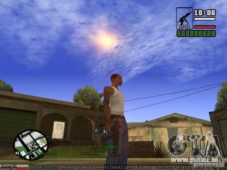 Armes de Pak pour GTA San Andreas troisième écran