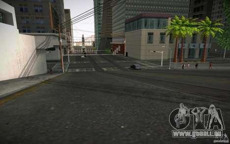 Route de HD (GTA 4 en Afrique du Sud) pour GTA San Andreas troisième écran