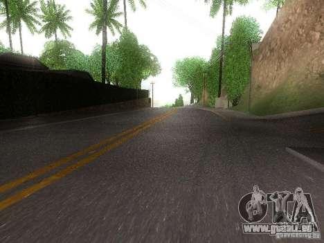 Modification Of The Road pour GTA San Andreas deuxième écran