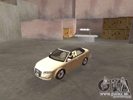Audi A4 Convertible v2 für GTA San Andreas linke Ansicht