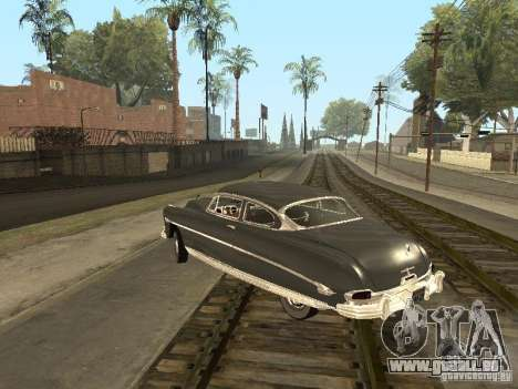 Hudson Hornet 1952 für GTA San Andreas obere Ansicht