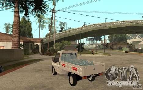 Ford Transit Pickup 2008 für GTA San Andreas zurück linke Ansicht
