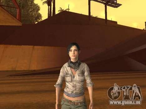 FaryCry 3 Liza Snow pour GTA San Andreas
