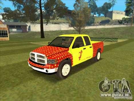 Tej Dodge RAM 2 Fast 2 Furious für GTA San Andreas
