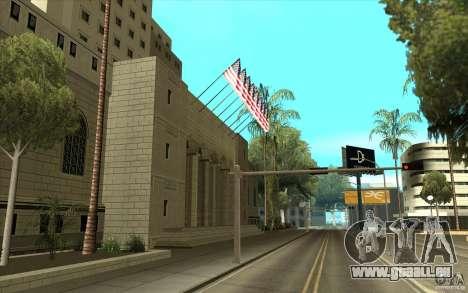Texture améliorée de la mairie pour GTA San Andreas deuxième écran
