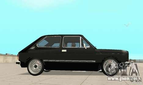Fiat 147 Brio 1977 pour GTA San Andreas vue de droite