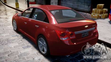 Chevrolet Cruze pour GTA 4 vue de dessus
