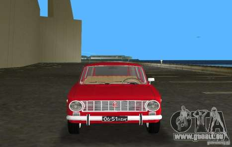 VAZ 2102 pour GTA Vice City vue arrière