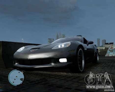 Chevrolet Corvette Grand Sport 2010 pour GTA 4